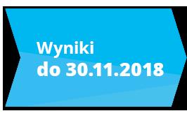 Wyniki głosowania do 30 listopada 2018